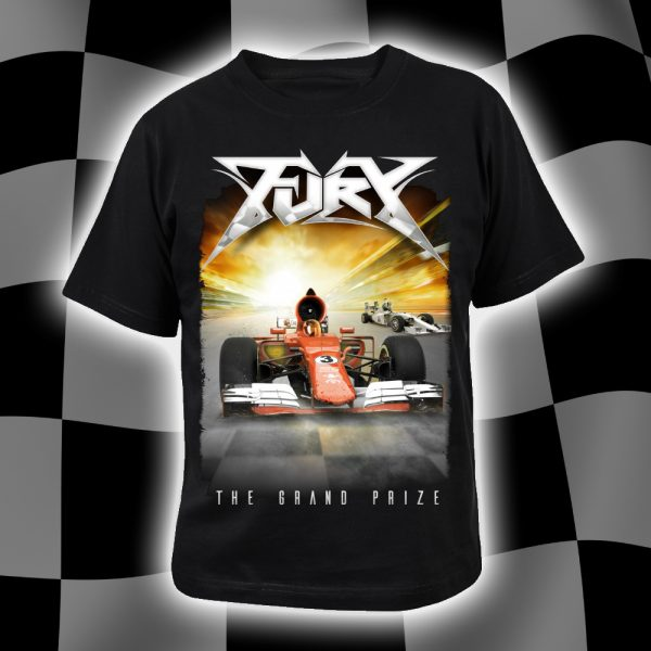 The grand prize fury album artwork t-shirt
